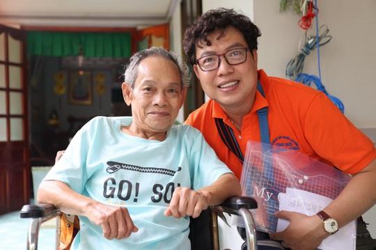 Mai Vàng nhân ái thăm NSND Thảo Vân và nghệ sĩ hài Vũ Quang tại Bến Tre - Ảnh 7.
