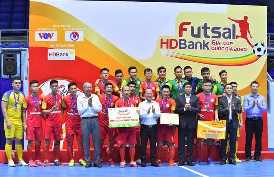 Giải Futsal HDBank Cúp Quốc gia 2020 để lại dấu ấn với người hâm mộ phố núi - Ảnh 3.