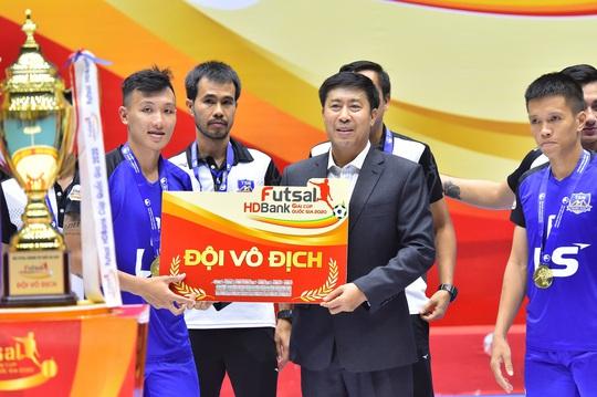 Giải Futsal HDBank Cúp Quốc gia 2020 để lại dấu ấn với người hâm mộ phố núi - Ảnh 1.