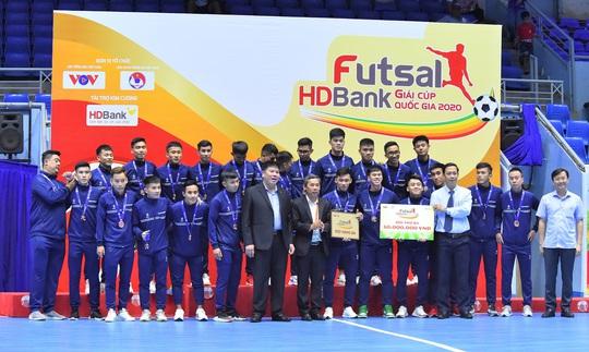 Giải Futsal HDBank Cúp Quốc gia 2020 để lại dấu ấn với người hâm mộ phố núi - Ảnh 4.