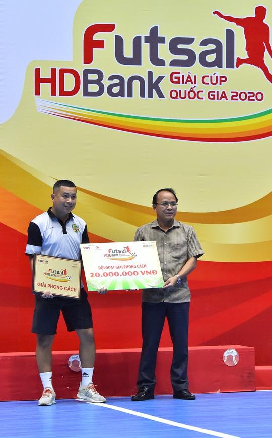 Giải Futsal HDBank Cúp Quốc gia 2020 để lại dấu ấn với người hâm mộ phố núi - Ảnh 5.