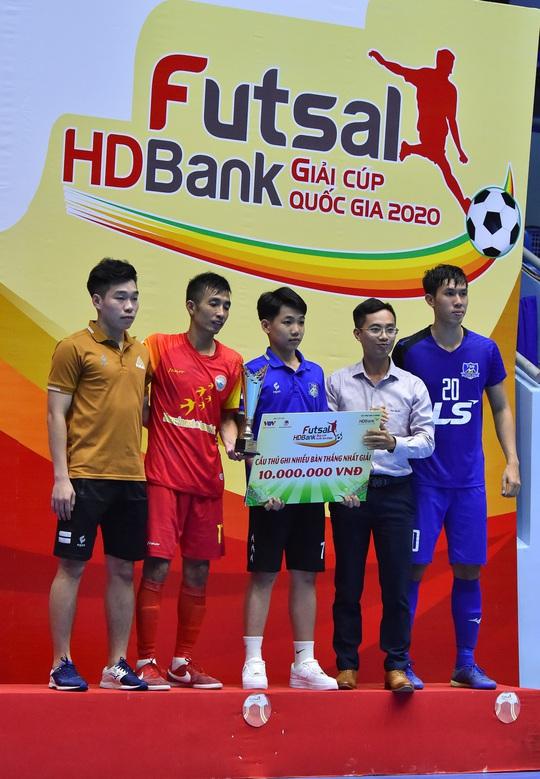 Giải Futsal HDBank Cúp Quốc gia 2020 để lại dấu ấn với người hâm mộ phố núi - Ảnh 6.