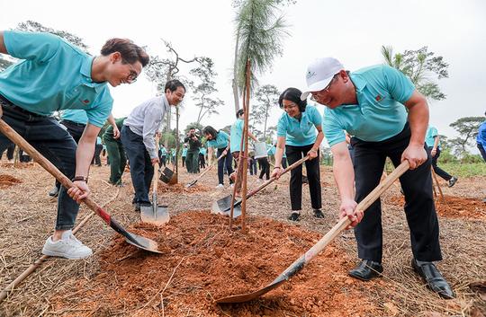 Hành trìnhMột triệu cây xanh, thêm cây thêm sự sống đến với Khu di tích lịch sử K9 Đá Chông – Ba Vì - Ảnh 2.