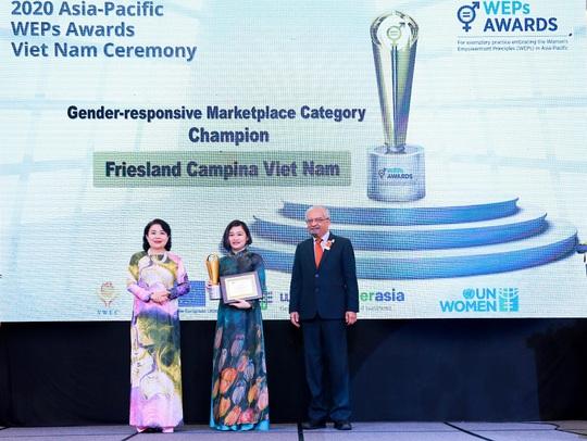 FrieslandCampina Việt Nam nhận giải thưởng trao quyền cho phụ nữ khu vực châu Á - Thái Bình Dương - Ảnh 1.