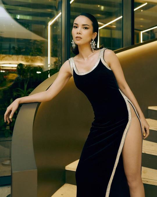 Sao Việt chuộng váy xẻ hông - Ảnh 4.