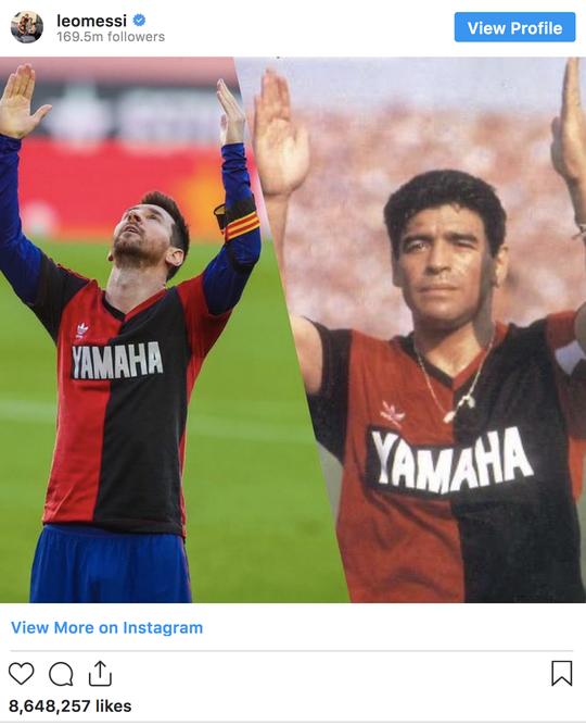 Cởi áo tri ân huyền thoại, Messi nộp phạt nóng 3.000 euro - Ảnh 3.