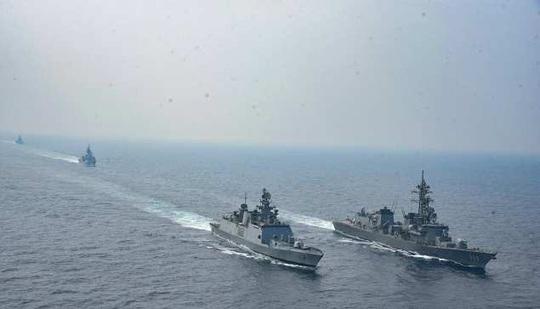 Nhóm Quad tập trận chung sau 13 năm, gửi thông điệp đến Trung Quốc - Ảnh 1.