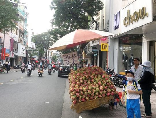 Trái cây đang có giá rẻ không tưởng, chất đầy các hè đường - Ảnh 5.