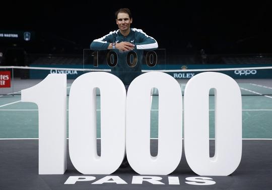 Rafael Nadal cán mốc 1.000 trận thắng trong sự nghiệp - Ảnh 1.
