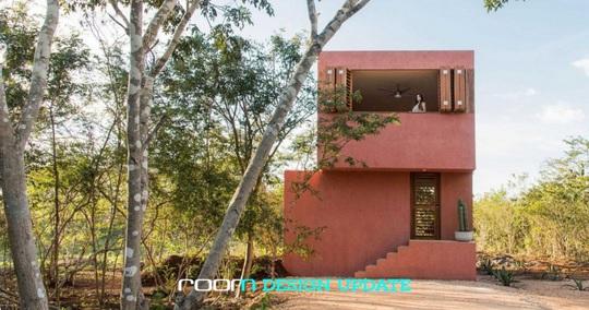 Ngôi nhà hòa mình vào thiên nhiên hoang dã ở Mexico - Ảnh 1.