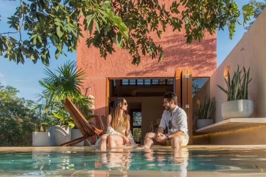 Ngôi nhà hòa mình vào thiên nhiên hoang dã ở Mexico - Ảnh 8.