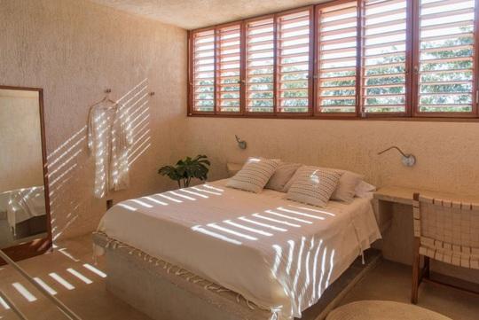 Ngôi nhà hòa mình vào thiên nhiên hoang dã ở Mexico - Ảnh 10.