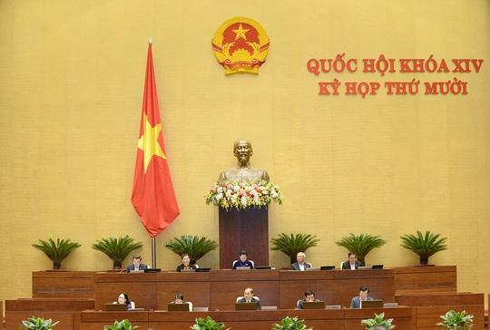 Quốc hội bắt đầu chất vấn các thành viên Chính phủ - Ảnh 1.