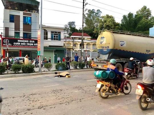 Tài xế xe bồn bỏ đi sau khi cán nam sinh lớp 10 tử vong - Ảnh 2.