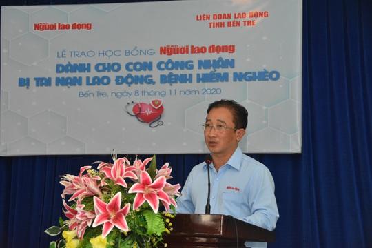 Học bổng Báo Người Lao Động đến với học sinh nghèo, học giỏi Bến Tre - Ảnh 3.