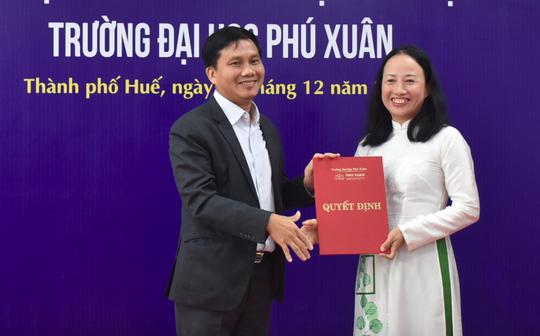 TS Hồ Thị Hạnh Tiên chính thức làm Hiệu trưởng Trường ĐH Phú Xuân - Ảnh 3.