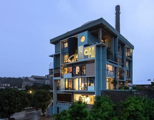 2 ngôi nhà ở Việt Nam thắng giải thưởng kiến trúc 2020 - Ảnh 3.