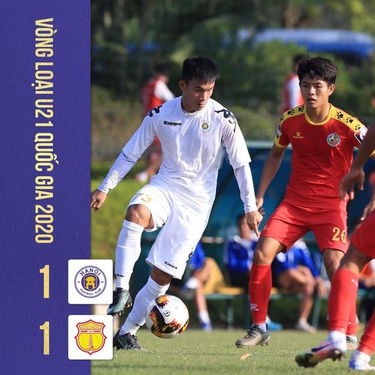 U21 Hà Nội có thể bị loại dù mang đến đội hình dự V-League - Ảnh 2.