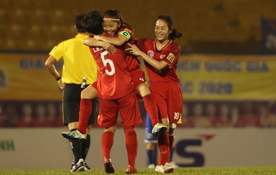 Đội nữ TP HCM bảo vệ thành công ngôi vô địch quốc gia - Ảnh 1.