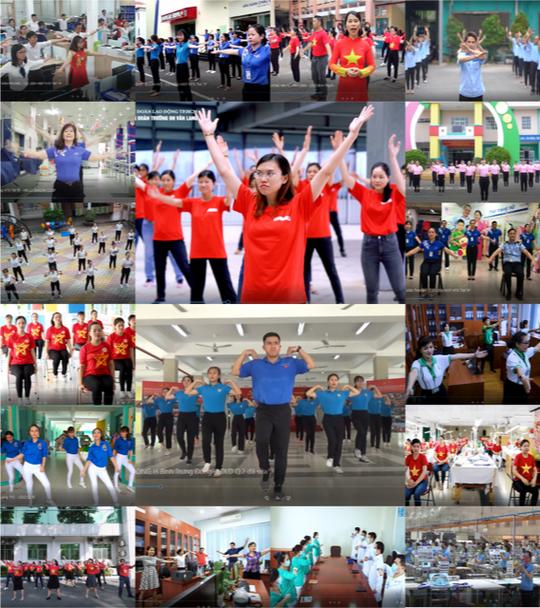 Tổng Liên đoàn Lao động Việt Nam mở hệ thống bình chọn clip thi bài thể dục giữa giờ - Ảnh 1.