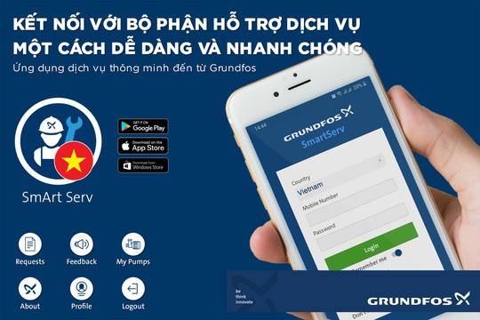 Grundfos ứng dụng công nghệ nâng cao dịch vụ chăm sóc khách hàng - Ảnh 1.
