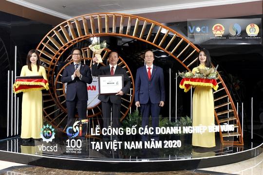 Vedan Việt Nam duy trì danh hiệu Top 100 Doanh nghiệp phát triển bền vững năm 2020 - Ảnh 1.