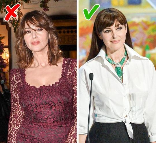 Những kiểu trang điểm, cách chọn trang phục khiến chị em trông già đi - Ảnh 2.
