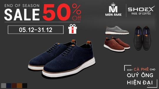 Mùa sale off cuối năm – giảm giá 50% khi mua giày ShoeX - Ảnh 3.