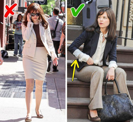 Những kiểu trang điểm, cách chọn trang phục khiến chị em trông già đi - Ảnh 4.
