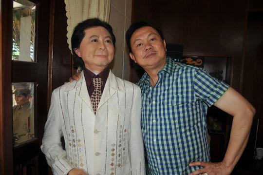Nghệ sĩ Việt Hương nhớ da diết không khí đo tượng sáp nghệ sĩ Chí Tài - Ảnh 5.