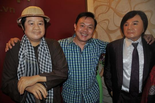 Nghệ sĩ Việt Hương nhớ da diết không khí đo tượng sáp nghệ sĩ Chí Tài - Ảnh 10.