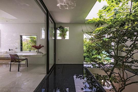 Ngôi nhà đẹp như bản tình ca với những ô vuông xanh ngẫu hứng - Ảnh 12.
