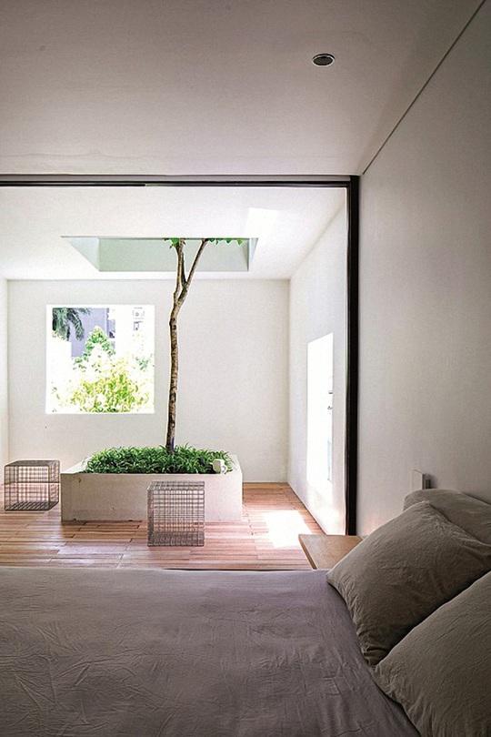 Ngôi nhà đẹp như bản tình ca với những ô vuông xanh ngẫu hứng - Ảnh 9.