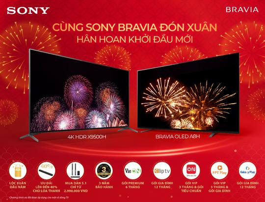 Cùng Sony đón Xuân – Hân hoan khởi đầu mới - Ảnh 1.