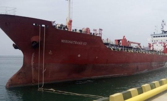 Ngân hàng rao bán cục nợ 114 tỉ đồng có tài sản thế chấp là tàu chở xăng - Ảnh 1.