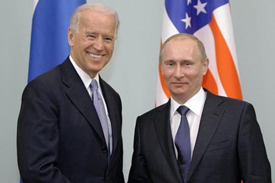 Bầu cử Mỹ: Tổng thống Putin chúc mừng ông Biden đắc cử - Ảnh 1.