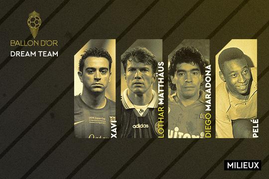 Đội hình trong mơ Quả bóng vàng: Messi và Ronaldo sánh vai huyền thoại - Ảnh 3.