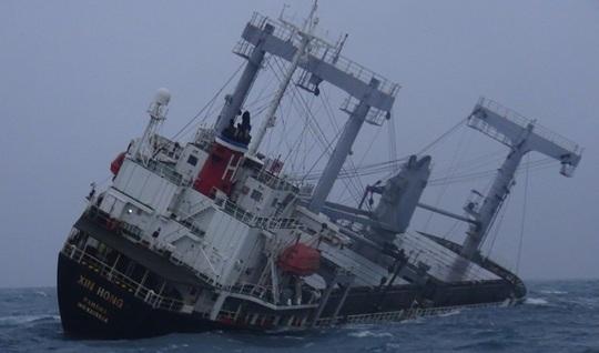 Vụ chìm tàu nước ngoài ở biển Phú Quý: Tìm thấy 11 người, 4 người chết và mất tích - Ảnh 1.