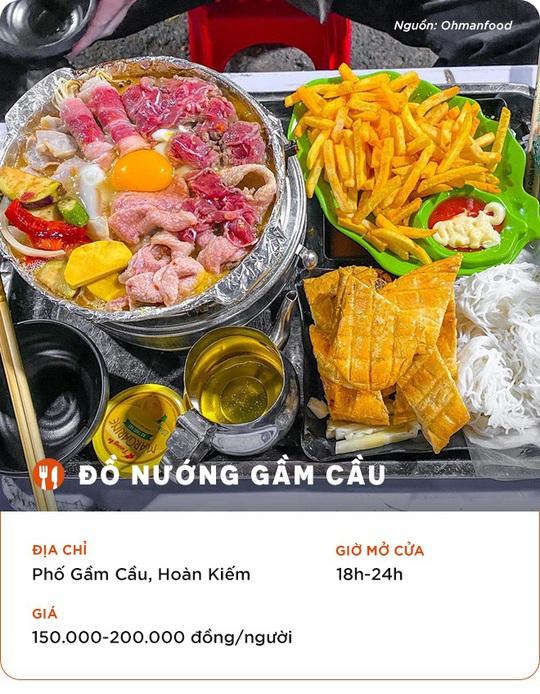 Những quán ăn cho hội đón năm mới thâu đêm ở Hà Nội - Ảnh 1.
