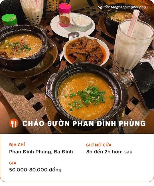 Những quán ăn cho hội đón năm mới thâu đêm ở Hà Nội - Ảnh 2.