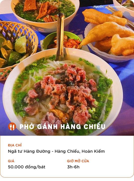 Những quán ăn cho hội đón năm mới thâu đêm ở Hà Nội - Ảnh 3.