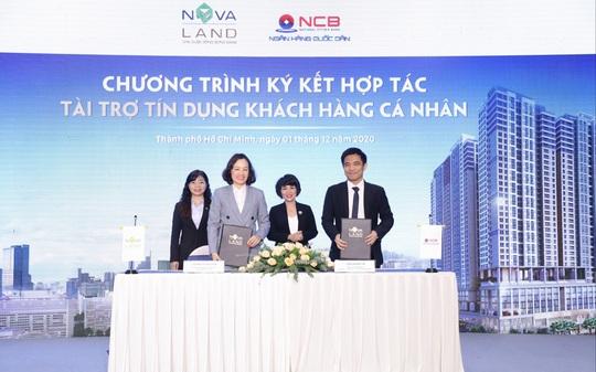 NCB tài trợ tín dụng khách hàng cá nhân mua dự án của Novaland - Ảnh 1.