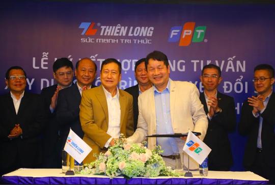 FPT tư vấn lộ trình chuyển đổi số toàn diện cho tập đoàn Thiên Long - Ảnh 1.