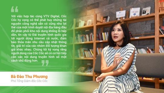VTV Digital và Cốc Cốc hợp tác thúc đẩy phân phối nội dung truyền hình số - Ảnh 1.