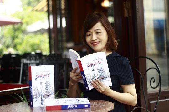 TS Cù Thu Hương ra mắt truyện ký về dịch Covid-19 Paris+14 - Ảnh 1.