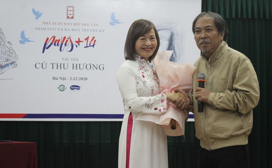 TS Cù Thu Hương ra mắt truyện ký về dịch Covid-19 Paris+14 - Ảnh 4.