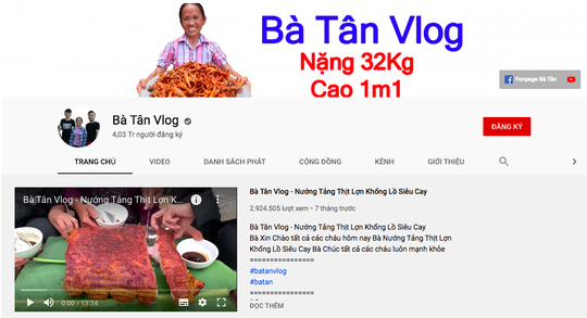 Bà Tân Vlog đã nộp thuế đầy đủ - Ảnh 1.