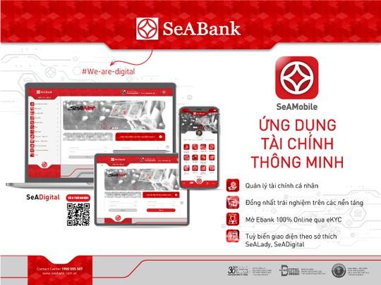 SeABank đồng nhất trải nghiệm ứng dụng ngân hàng số - Ảnh 1.