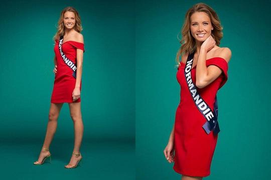 Nhan sắc người mẫu đăng quang Hoa hậu Pháp 2021 - Ảnh 4.