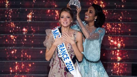 Nhan sắc người mẫu đăng quang Hoa hậu Pháp 2021 - Ảnh 1.